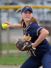 Hartland's Madeline Skene led the county with 10 home runs last season.