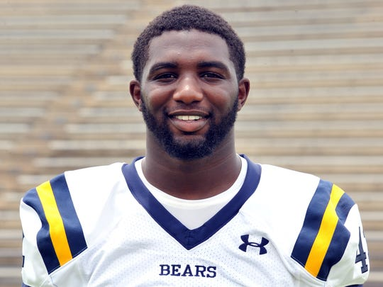 Rashaad Harding: Carencro, Senior, Linebacker