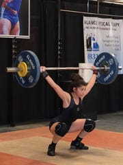 Alexia Gama competing at Saturday's Mario Martinez