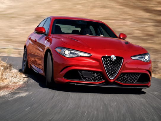 The performance Quadrifoglio version of the 2017 Alfa
