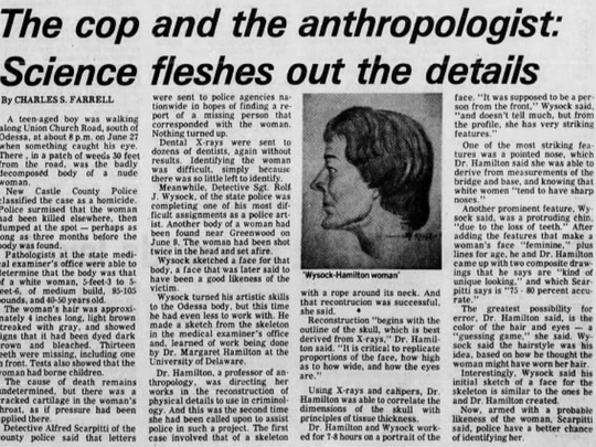 A clip from The Morning News published Aug. 18, 1977,