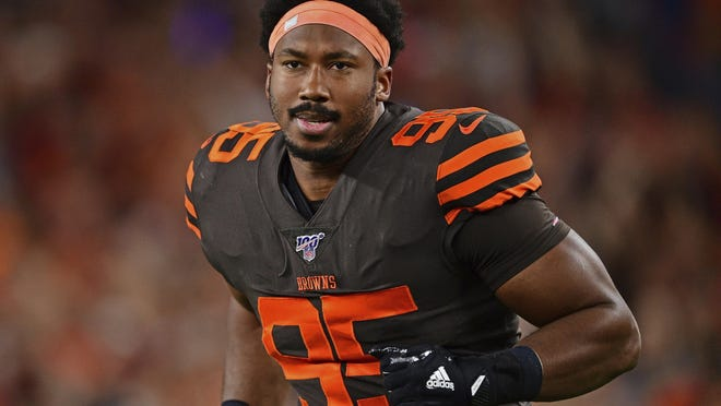 Browns defensive end Myles Garrett plans to come back better than ever after serving a six-game suspension and then signing a five-year, $125 million extension that will make him the highest paid non-quarterback in NFL history.