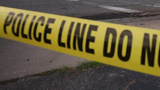 The woman was shot in the leg, Detroit Police said.