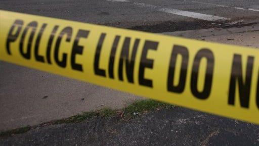 A police crime scene tape.