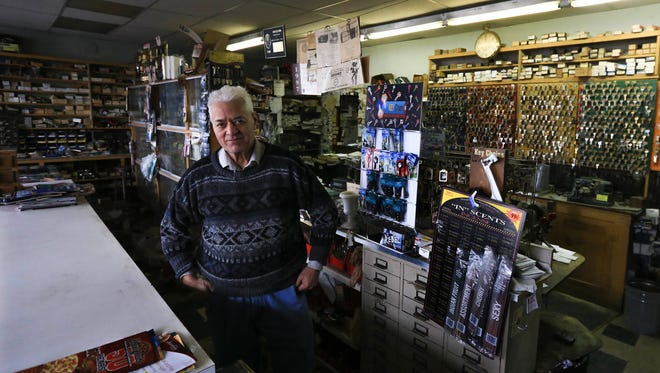 Dave Singh, owner of Bill's Fix It Shop in Detroit, worked part-time at the shop for almost 40 years and now owns the business.