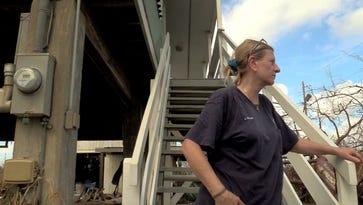 Last wave of returning Florida Keys residents find helpful neighbors, heaps of damage