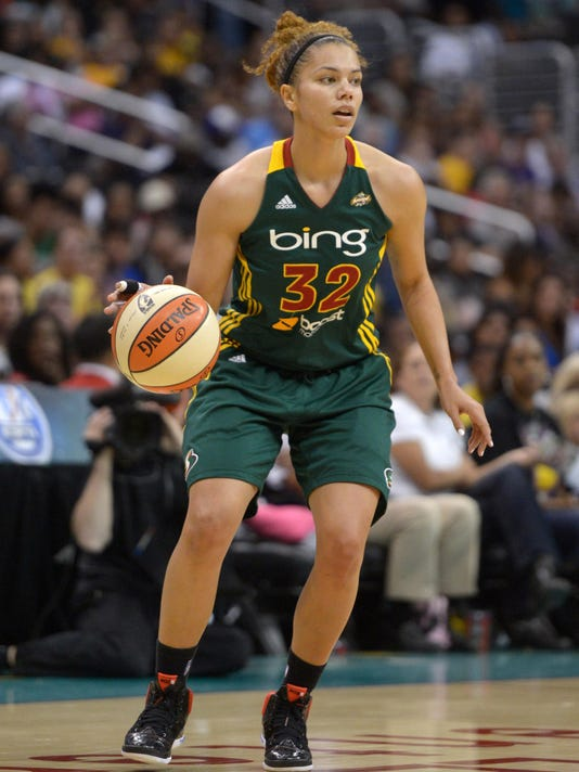 WNBA: Seattle Storm at Los Angeles Sparks