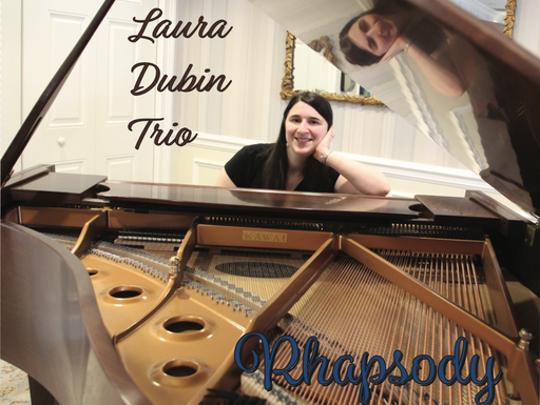 CD cover for Laura Dubin Trio's Rhapsody.