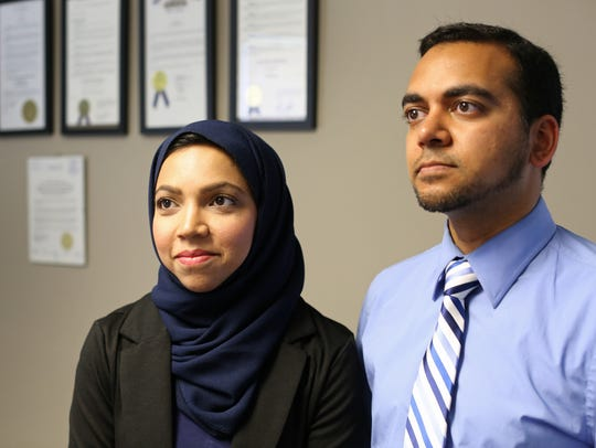 Nazia and Faisal Ali, were kicked off a Delta Airlines
