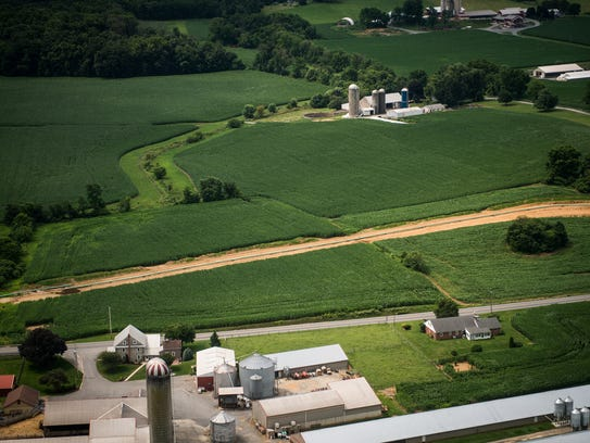 Construction for the Sunoco Mariner East pipeline continues