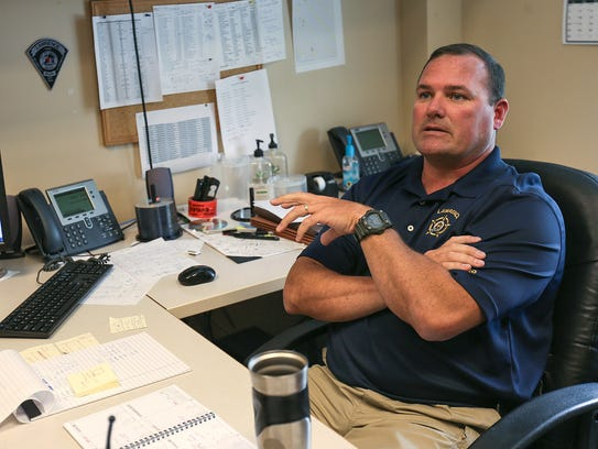 Lawrence Police Capt. Mark Osborn talks about the software