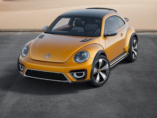 Volkswagen shows Golf R, Dune buggy concept