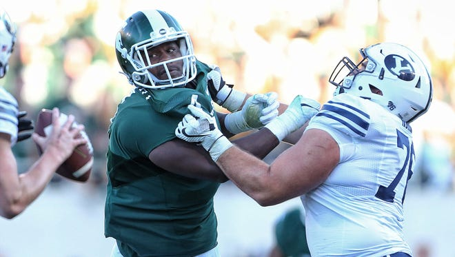 Don't expect Michigan State's Malik McDowell to slip out of the first round of the NFL draft.