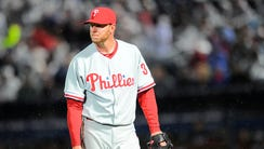 Roy Halladay retired in 2013 after struggling to pitch
