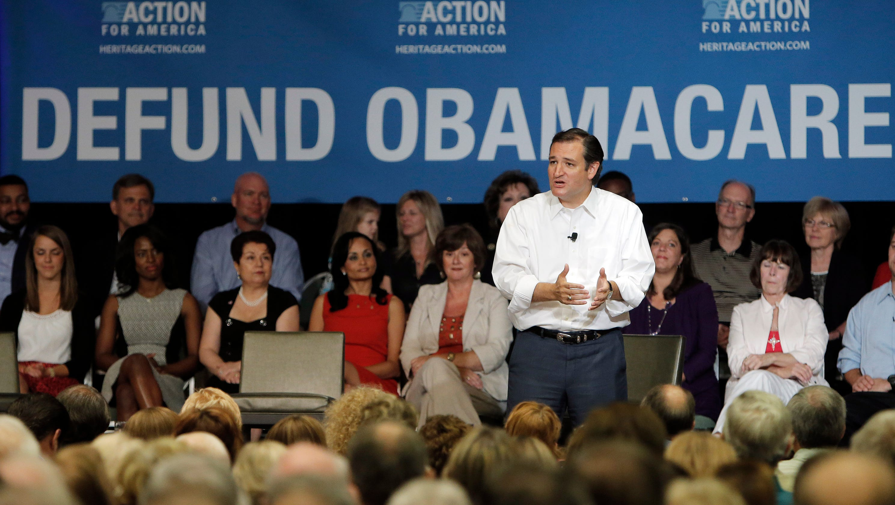 Tea Party push to block 'Obamacare' funding divides GOP
