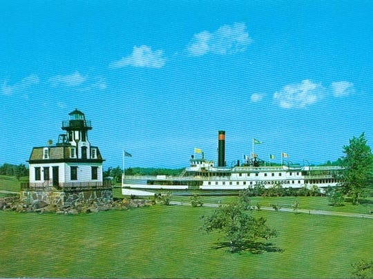16. Postcard of Ticonderoga at Shelburne Museum