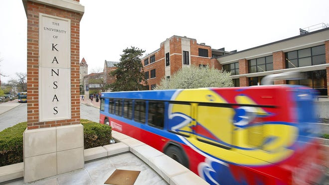 More than 200 people tested positive for the coronavirus at the University of Kansas after the university required students, faculty and staff to submit to mandatory saliva testing ahead of the first day of school Monday.