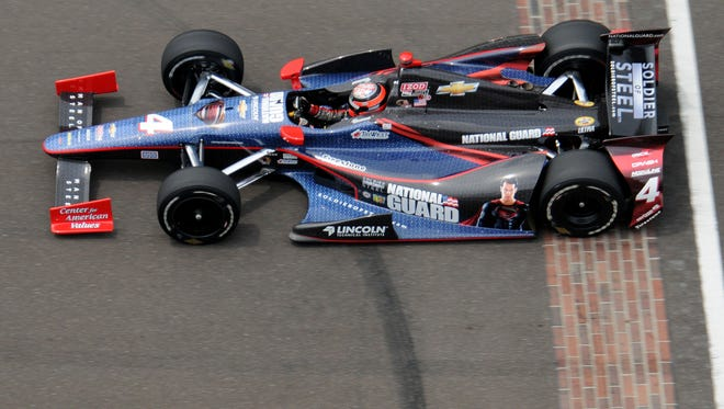 Panther Racing fielded the National Guard car in IndyCar for six seasons.