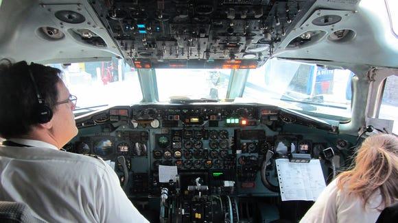 Delta DC-9 aircraft makes final flight