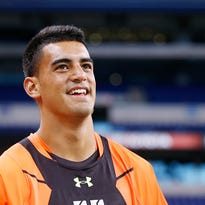 The Titans selected Marcus Mariota 2nd overall