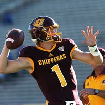 Quarterback battle has Central Michigan fired up