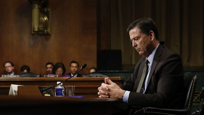 James Comey on Capitol Hill on May 3, 2017.