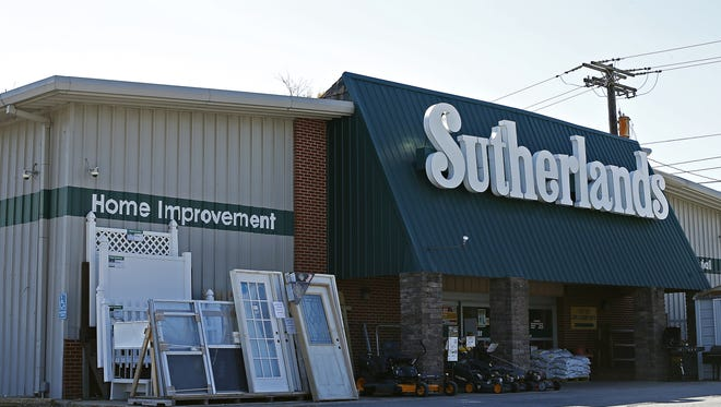 Sutherlands closed its previous location on East Chestnut Expressway in the spring of 2016.