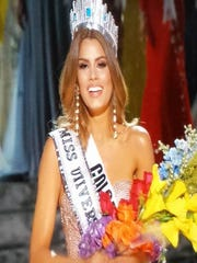 Miss Colombia, Ariadna Gutierrez, was mistakenly crowned Miss Universe