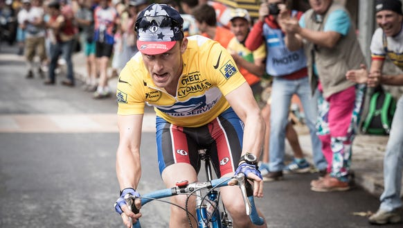 """Ben Foster took playing Lance Armstrong in """"The Program"""""""