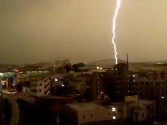 lightning tokyo train