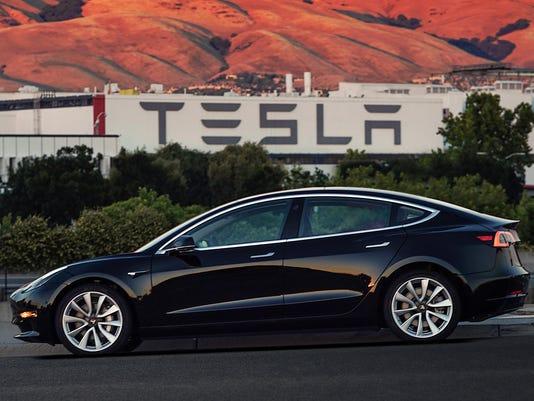 Tesla-First Model 3