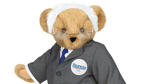 The Bernie Bear unveiled by Vermont Teddy Bear