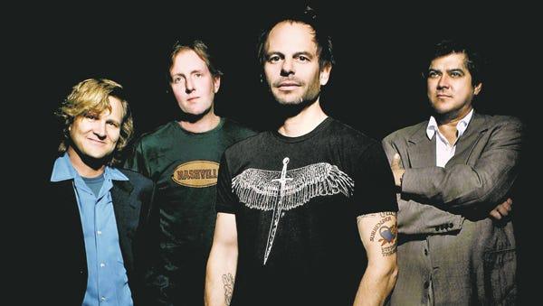 The Gin Blossoms. From left: Scott Johnson, Bill Leen, Robin Wilson and Jesse Valenzuela.