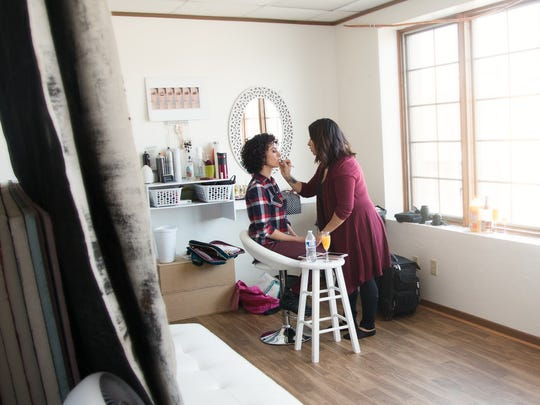 Mary Breuer Photos offers the availability of a makeover professional so clients can look and feel their best for photo shoots.