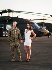 Sgt. 1st Class Jason Johnson and his wife Sandi Johnson