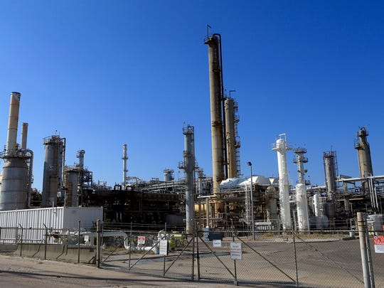 The Valero Company-East Plant is located on Cantwell