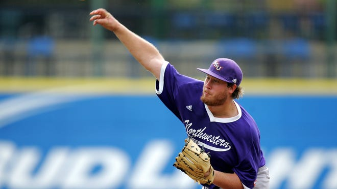Senior Josh Oller improved to 10-2 Thursday as Northwestern State defeated Nicholls, 4-3, to stay alive in the Southland Conference Tournament. Oller is the first Demon in 11 years to win 10 games in a season.