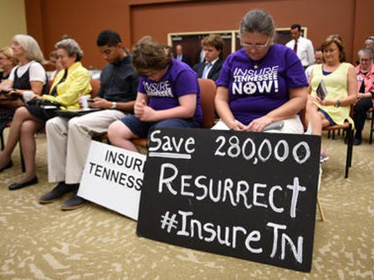A bill based on former Gov. Bill Haslam's failed 2015 Medicaid expansion proposal, known as Insure Tennessee, was halted for the year.