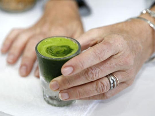Wheatgrass is considered a superfood with health benefits.
