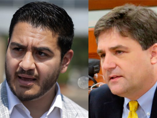 Abdul El-Sayed and state Sen. Patrick Colbeck ran in 2018 for Michigan governor.