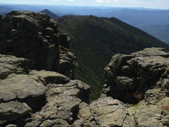 The Franconia Ridge Trail is a popular destination partly because it sits above tree level, affording expansive views of the White Mountains.