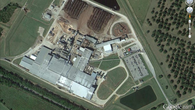 A Houston man was killed early Wednesday at the RoyOMartin plywood plant in Chopin, according to the Natchitoches Parish Sheriff's Office.