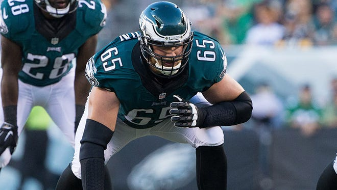 The Eagles' Lane Johnson is eager to face Tom Brady in the Super Bowl.