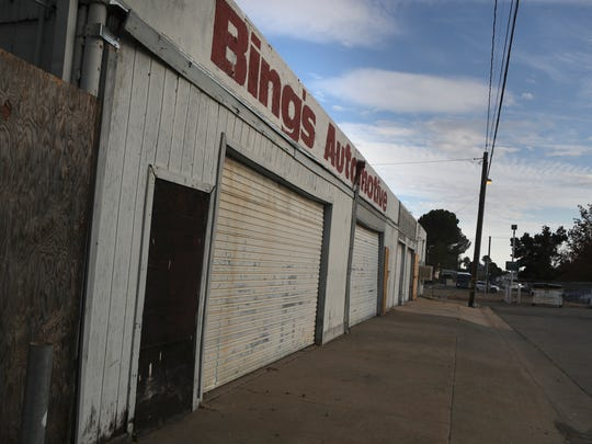 The former home of Bing's Automotive will be torn down