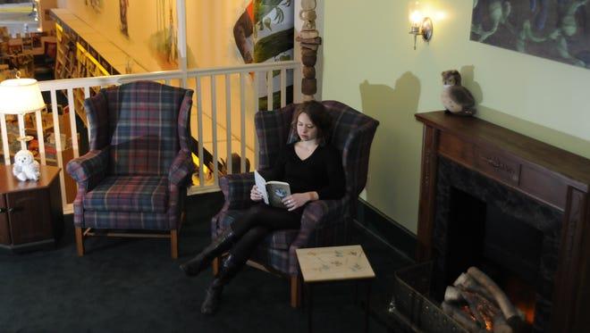Llalan Fowler of Main Street Books.