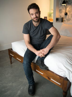 "Charlie Cox, star of the new  Netflix series ""Daredevil."""