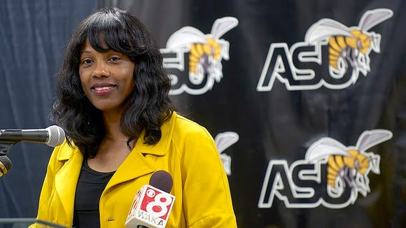 """ASU volleyball coach Penny Lucas-White said it's time for the Lady Hornets """"to raise the standards"""" of the program after winning the SWAC in 2013."""