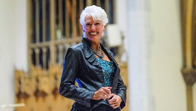 Ann Gorman models for Fashion Week of Rochester