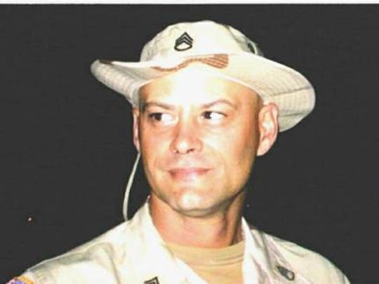 Mike Mills in early 2005, after his National Guard
