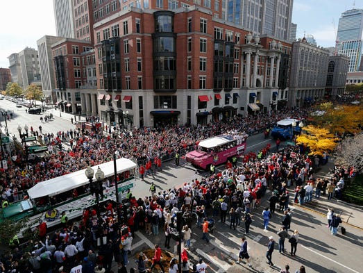 Red Sox Pitcher Buys Duck Boat After Parade